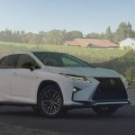 2016 Lexus RX350 F SPORT: in the details