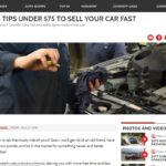 5 tips to sell your car fast